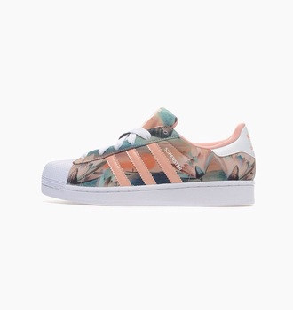 shoes flowers adidas pink adidas with flowers white