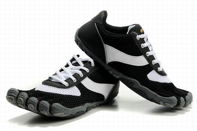 five fingers speed black white mens water shoes