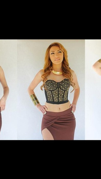 dress gorgeous jewels skirt
