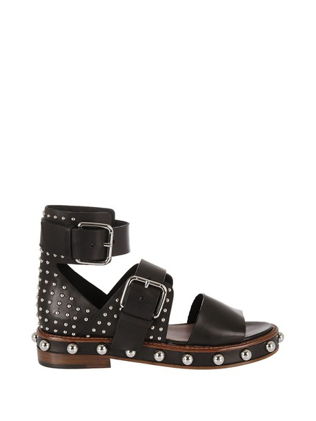 RED VALENTINO sandals black shoes