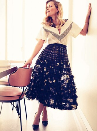 skirt reese witherspoon midi skirt