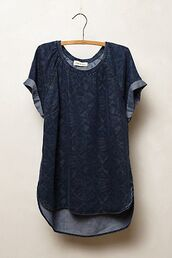 shirt,scoop neck,high-low dresses,blouse,t-shirt,mens t-shirt,menswear,swag,blue