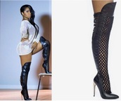shoes,bebe footwear,emily b,black and white milan love and hiphop hollywood reunion,hip hop
