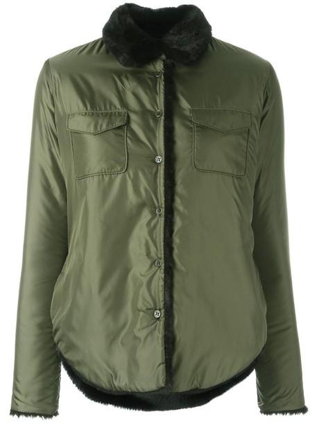 ASPESI jacket women green