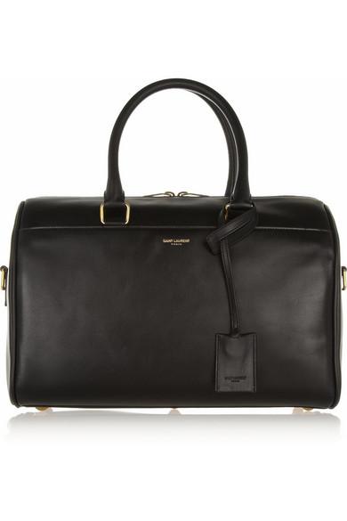 Saint Laurent | Classic Duffle 6 leather bag | NET-A-PORTER.COM
