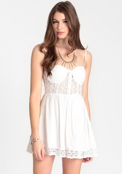dress littel white