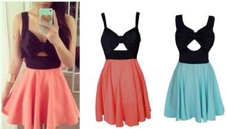 dress bow cute cute dress