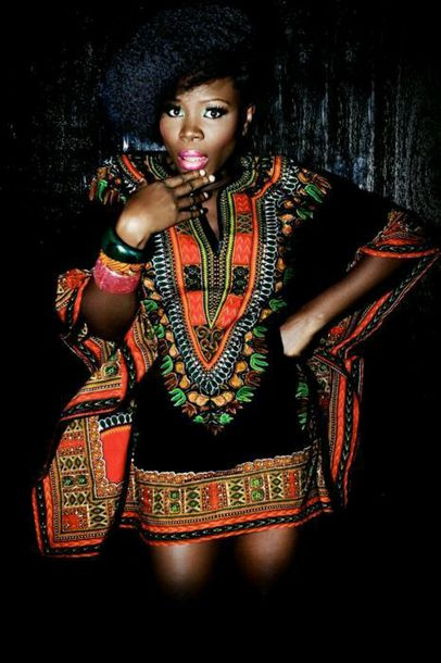 dress dashiki african print orange dress black girls killin it dashiki