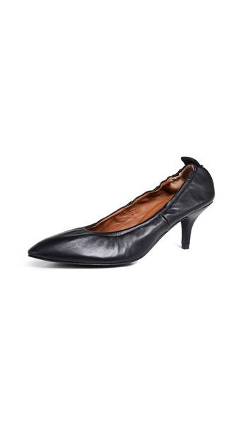 Joseph Dallin Kitten Heel Pumps in black