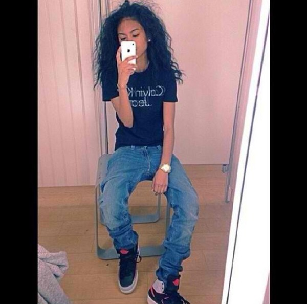shoes jordan's jeans jasmine centina