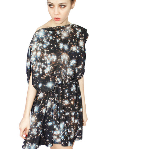 Galaxy Print Dresses | Shadowplaynyc | Galaxy Print Clothing