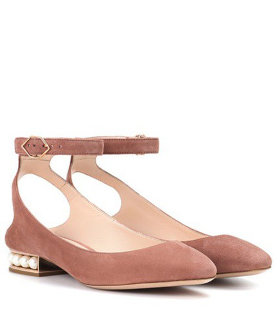Nicholas Kirkwood pearl suede shoes
