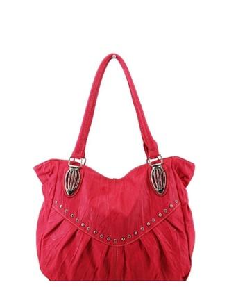 bag shoulder bag purse fuschia large womens accessories