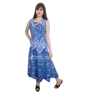 dress,blue long gown,maxi dress,womens summer gowns,trendy gowns,fashion treends,cotton long gown,womenwear,clothes,mandala clothes,long gown,womens gowns,boho summer outfits,unique dress,dressy,women style