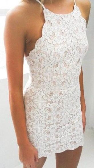 dress lace dress white dress
