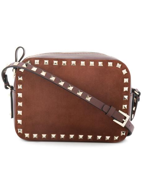 women bag crossbody bag suede brown
