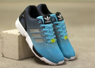 shoes adidas shoes adidas zx flux tiffany blue shoes blue and black black and blue blue shoes black shoes black and blue shoes zx flux adidas blue adidas black running shoes adidas running sport shoes