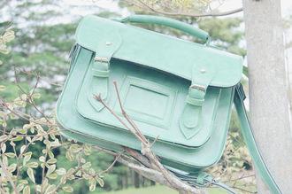 bag mint camebridge satchel light green bag aqua satchel bag