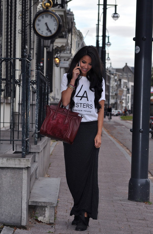 satisfashion shoes bag shirt skirt