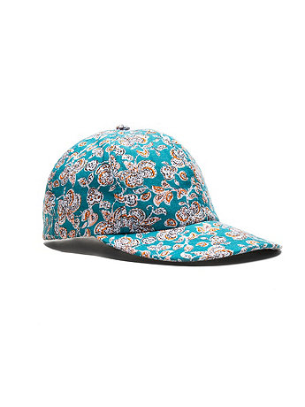 The Floral Printed Cap | American Apparel