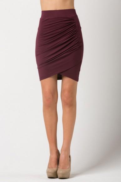 skirt wrap over skirt pencil skirt asymmetrical draped