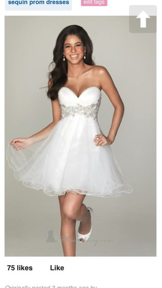prom dress white dress wedding dress