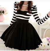dress,black,stripes,mini dress,t-shirt,pretty. girly,party,classy,sweet,skirt,pretty,ribbon,little black dress,w&b,blackstripes,black and white stripes,bows,cute,shirt,puffy,girly,fashion,black skirt,blouse,long sleeve dress,bow,black and white,netted skirt,beautiful,white dress,retro dress,cute dress,bag,lovely,white,flirty skirt,girly outfits tumblr,skater dress,stripped,long,sleeved,tulle skirt,chic,black and white striped dress,black bow dress,black and white dress,short,pearl,striped dress,short dress,black dress,black and white dress with bow,black and white striped dress with bow,black and white striped with bow,white dress with bow,black dress with bow,black bow,long sleeves,fall outfits,prom dress,style,clothes,bow dress,cheap please,chiffon,long-sleeve,poofy skirt,bow top,emo,goth,gothic dress,scene,shoes,plus size,plus size dress,black white long sleeve,black puffy skirt,love,blackandwhitedress,fuller skirt,black and white dress long sleeve,black and white striped,tumblr outfit,tumblr clothes,lace,tie,top,kawaii,striped top,puffy dress,poofy dress,Help need this dress