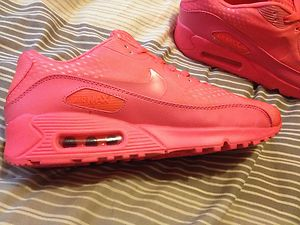 Nike Air Max 90 Hyperfuse Fluorescent Pink UK 9 | eBay