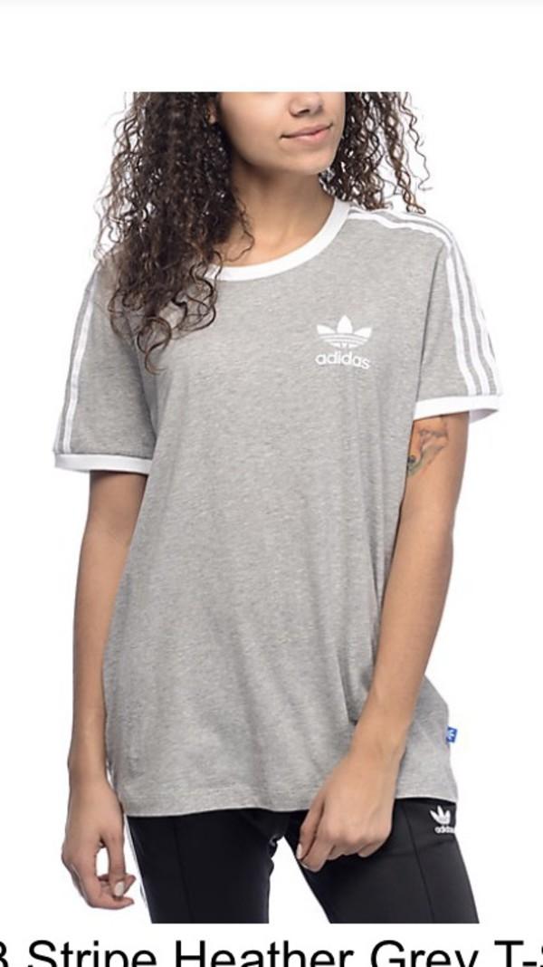edd006702 adidas Originals Women's 3 Stripes Tee at Amazon Women's Clothing store: