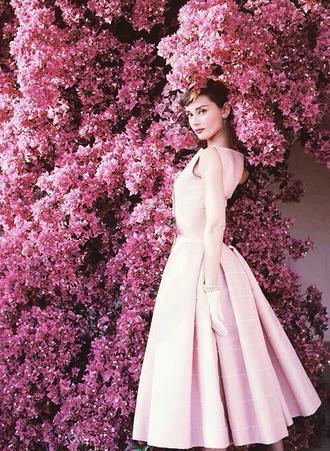 dress vintage audrey hepburn