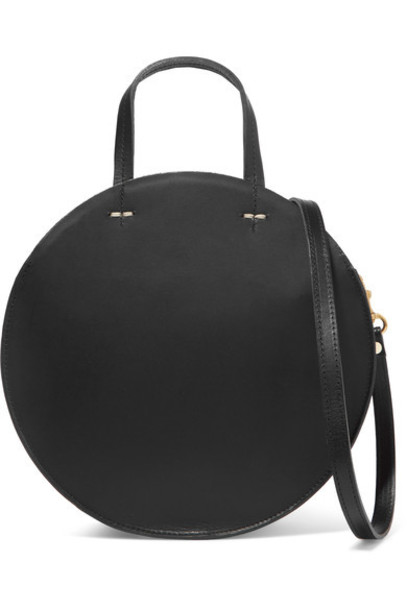 Clare V. bag shoulder bag leather black