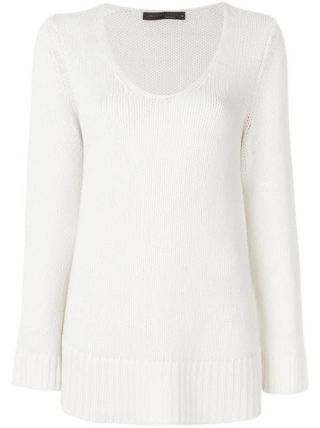 Incentive Cashmere jumper women white sweater