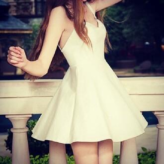 dress white white dress white mini dress mini dress girly kawaii cute beach summer summer outfits summer dress style pretty