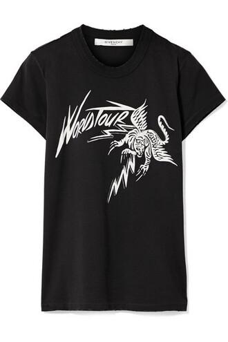 t-shirt shirt cotton black top