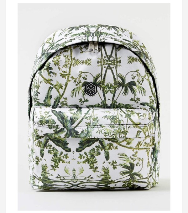 bag palm tree print