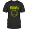 Nirvana smile grunge t-shirt - teenamycs