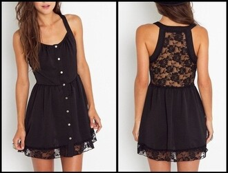 dress black dress lace dress lacie tank dress black lace sneakers sneakers with lace lace black lace buttons button up black flowers flowers lase backless skater dress halter top cute tank top cute dress little black dress lace back grunge fashion hipster sexy floral