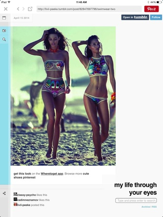 swimwear bikini sheer top sequins