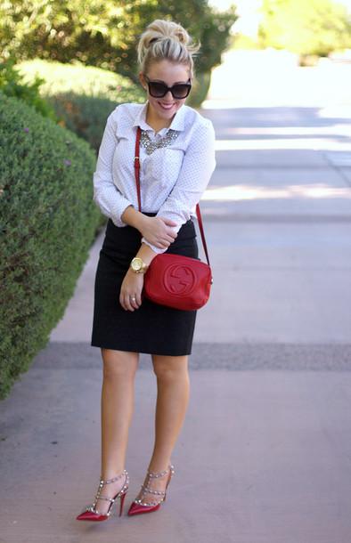 a beautiful heart t-shirt skirt shoes bag jewels sunglasses