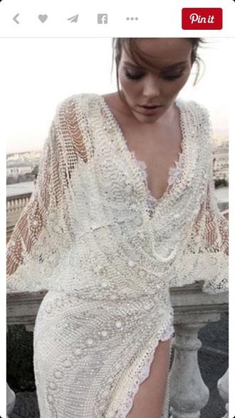 dress white dress lace dress wedding dress lace wedding dress