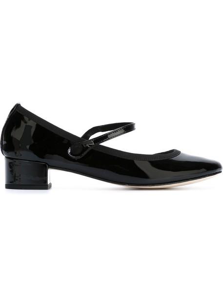 rose women pumps leather cotton black shoes