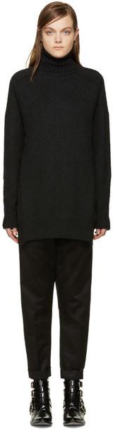 Isabel Marant turtleneck black camel sweater