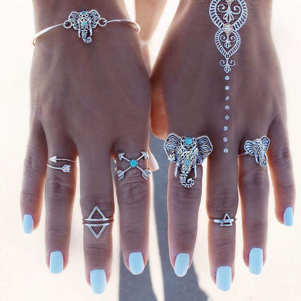 jewels jewelry boho jewelry knuckle ring ring rings and tings silver ring triangle