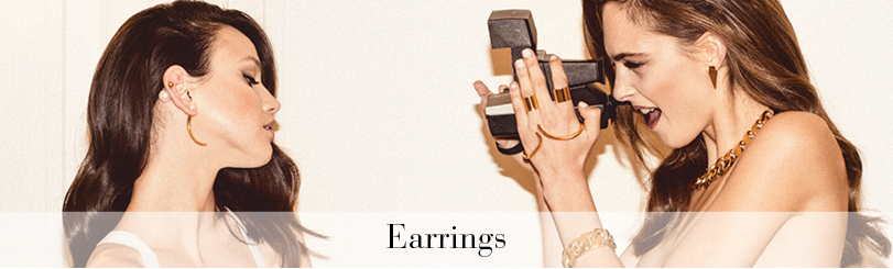 Designer earrings & ear cuffs online