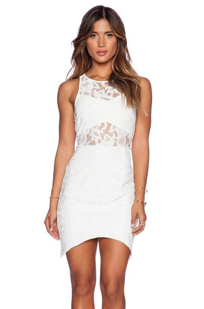 Saylor dress white