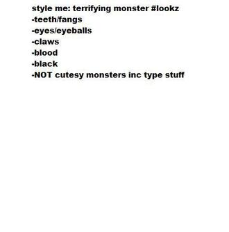 blouse scary creepy goth nu goth monster monsters blood
