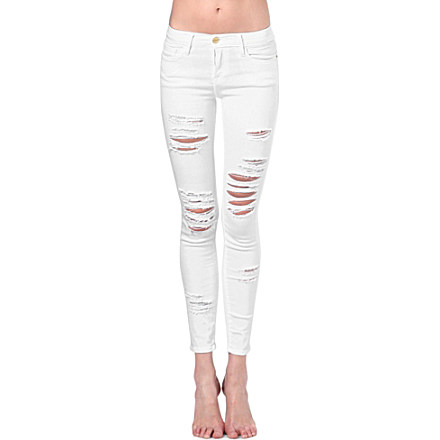 FRAME - Le Skinny de Jeanne skinny mid-rise jeans | Selfridges.com
