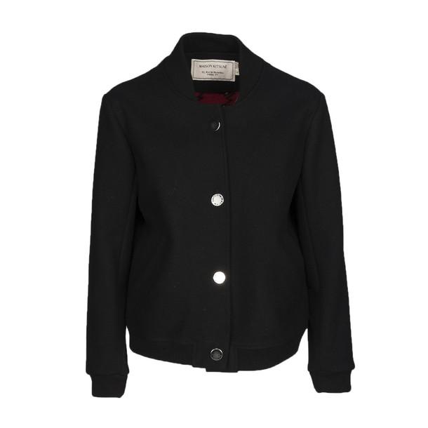 kitsuné jacket soft black