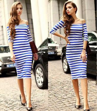 striped dress streetwear