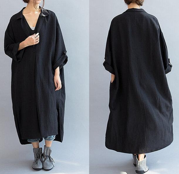 dress oversized dress